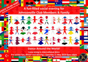 Johnsonville Pre-Winter Club Dinner and Dancing 2019 @ St John's Anglican Church Hall | Wellington | Wellington | New Zealand