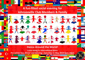 Johnsonville Pre-Winter Club Dinner and Dancing 2019 @ St John's Anglican Church Hall | Wellington | Wellington | New Zealand
