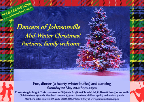 Johnsonville Mid-Winter Christmas 2021 @ St John's Anglican Church Hall | Wellington | Wellington | New Zealand