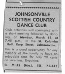 1968 Johnsonville Advert